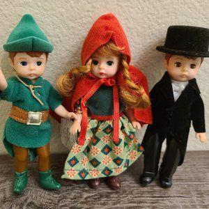 3 Vintage Madame Alexander Dolls